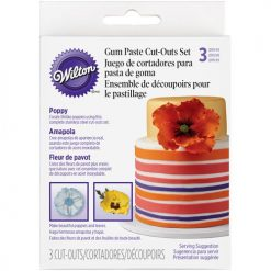 Wilton Poppy Cutter Set/3
