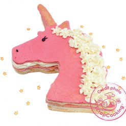 Unicorn Koek met bakrand