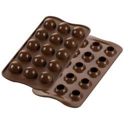 Chocolade mould tartufino