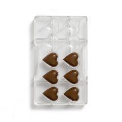 Decora Chocolade Mould Hearts