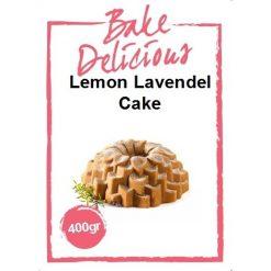 Bake Delicious Lemon Lavendel