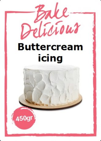 Bake Delicious mix voor Buttercream icing