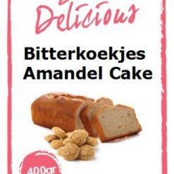 Bake Delicious Bitterkoekjs Amandelcake