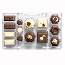 Decora Chocolade Mould Geometric