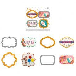 Decora Mini Frames Cookie Cutters set/4