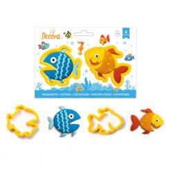 Decora Fish Cookie Cutters Set/2