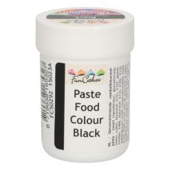 FunCakes FunColours Food Paste Black