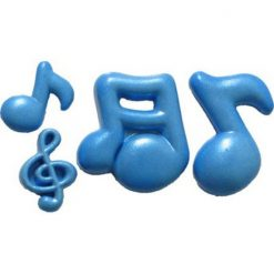 First Impression Silicone Mould Musical Notes