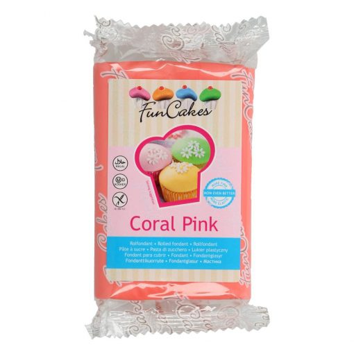 FunCakes rolfondant Coral Pink