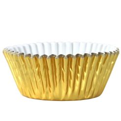 PME Baking Cups Metallic Gold