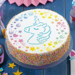 Decora Stencil Unicorn