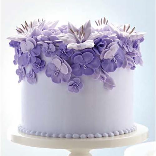 Wilton Course 2 - Flowers & Cake Design