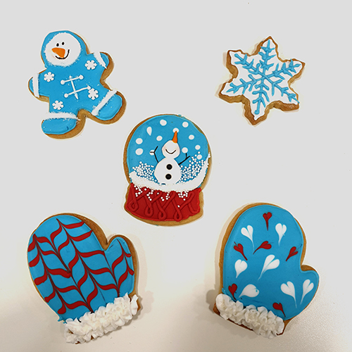 Workshop Royal icing cookies winter 2019