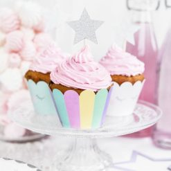 PartyDeco Unicorn Cupcake Wrappers