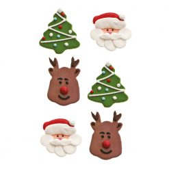 Decora Christmas Sugardecoration
