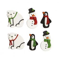 Decora Sugardecorations Snowman & Bear