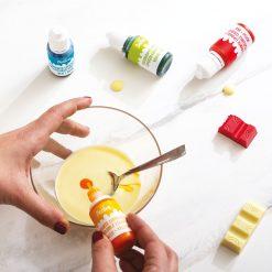 Het gebruik van Decora Vetoplosbare Kleurstoffen