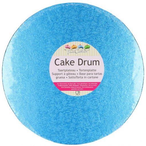 FunCakes Drum Rond Blauw 30,5cm