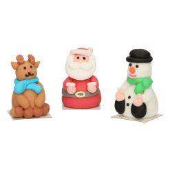 FunCakes Suikerdecoratie Kerstfiguren
