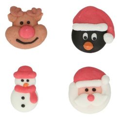 FunCakes Suikerdecoratie Kerst