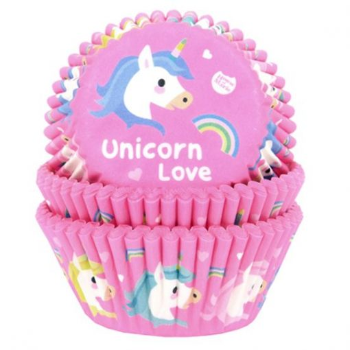 House of Marie Unicorn Baking Cups