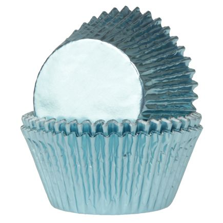 House of Marie Mini Baking cups folie blauw
