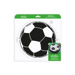 Decora Stencil Voetbal