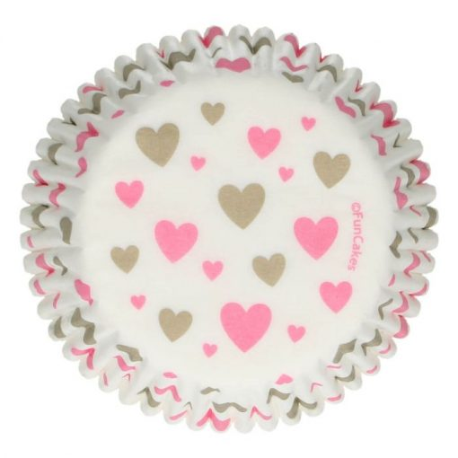 FunCakes Baking Cups Hearts