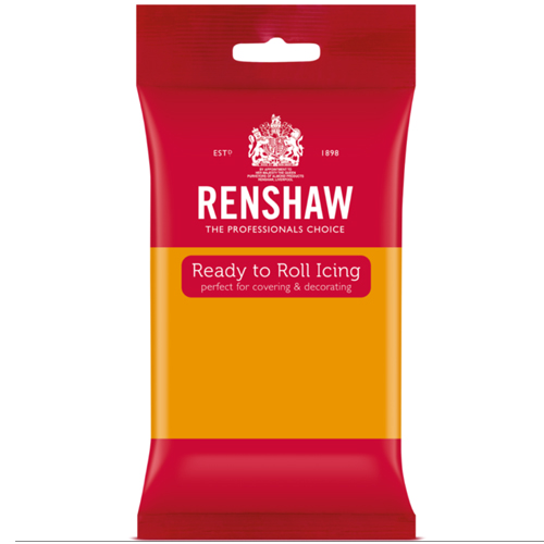 Renshaw Pro Ready to Roll icing Autumn Gold
