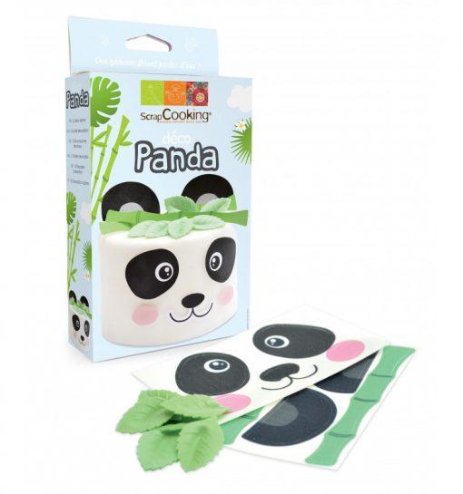 Scrapcooking Decoratie Kit Panda