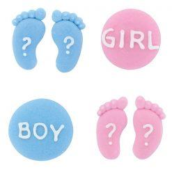 Culpitt Suikerdecoratie Gender Reveal