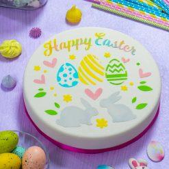 Decora Stencil Happy Easter