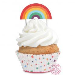 ScrapCooking Cupcake Set Regenboog