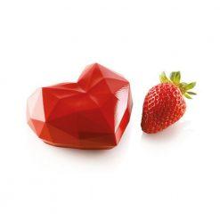 Silikomart Siliconevorm Origami Hart