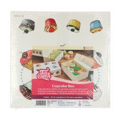 FunCakes Cupcake Doosje 6 - Cakes