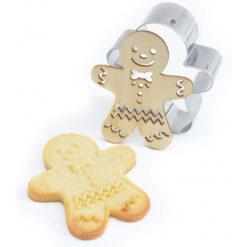 ScrapCooking Cookie Cutter & Embosser Gingerbreadman