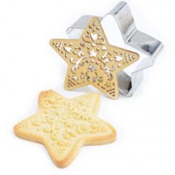 ScrapCooking Cookie Cutter & Embosser Ster